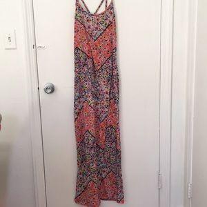 Xhilaration Medium Floral Maxi Dress